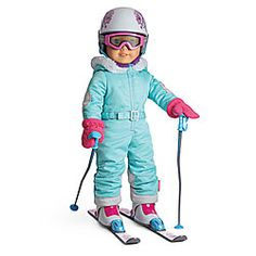 Beforever Girl of Today's Ski Outfit & Accessories