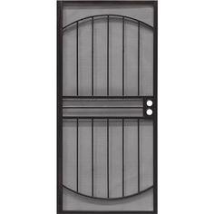 36 Blk (Black) Security Door 3836BK3068 Precision Screen and Security Unit: Each