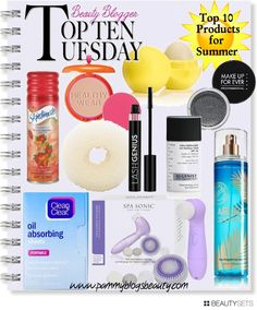 Top Ten Tuesdays: Top 10 Products for Summer 2013 http://www.pammyblogsbeauty.com