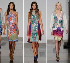 Jonathan Saunders Spring/Summer 2014 RTW - London Fashion Week  #LFW #fashionweek #LondonFashionWeek