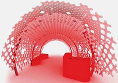 Decorative Space System by 3-Form
