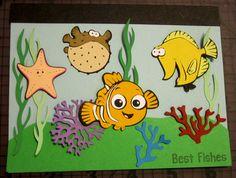 Finding Nemo Cricut card
