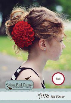 Ava flower Kit: Red - Violette Field Threads