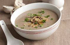 Vegetable Soup Recipes For Weight Loss - Mushroom Soup