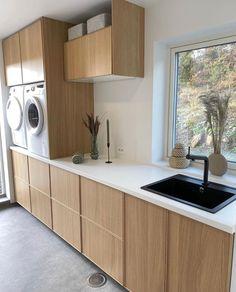 Decoration Design, Deco Design, Small Laundry, Laundry Room, Hygge, Mudroom, Kitchen Cabinets, New Homes, Cactus