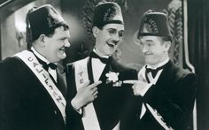 """Sons of the Desert returned to the big screens in cinemas in the UK in June 2015 to mark the 125th anniversary of Stan Laurel's birth. Sons of the Desert was also the film in which Ollie asks Stan to take his temperature with a thermometer and asks what it says. """"Wet and windy"""", replies Stan."""