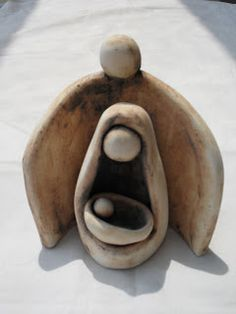 Pesebre cerámica