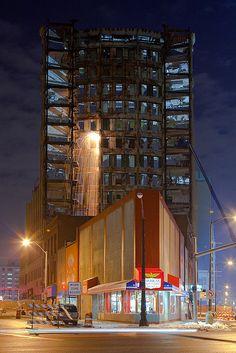 Beautiful picture of a demolition job. #demolition