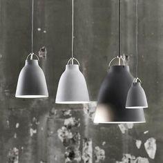 Caravaggio Pendant Matte Grey Lamp - Huset Shop - 1
