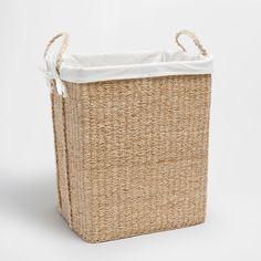 Wäschekorb aus Jute mit Griffen - KÖRBE - DEKORATION | Zara Home Deutschland