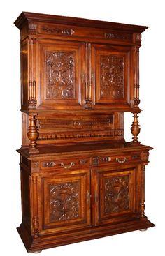 buffet style henri ii meubles de style pinterest meuble de style antiquit s et meubles. Black Bedroom Furniture Sets. Home Design Ideas