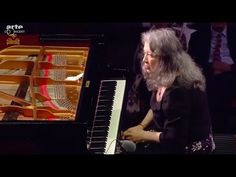 Martha Argerich - Ravel: Piano Concerto in G Major (2016) > https://www.youtube.com/watch?v=zXqOhLUvT7w