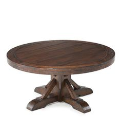 """40""""x19 high Gettysburg Round Pedestal Cocktail Table 