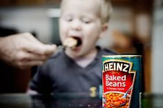 well, the more you eat the more you, you know.... lol    Seeing we're running a food/eating theme lately I thought I'd get a shot of Jaedon eating his favourite dinner. We mix the beans with scrambled eggs, and he would seriously eat it until the cows  Discover how to get others to promote your offers for you