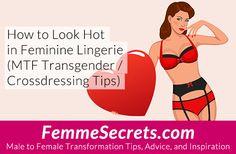 Transexual bondage lingerie