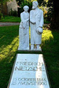 Nietzsche tombstone