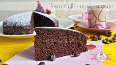 Torta light caffè e cacao, semplice, golosa e leggerissima, SENZA BURRO, OLIO, LATTE E UOVA! Una specialità senza colpe ma che piace a tutti!