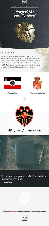 Wagner Family Crest on Behance