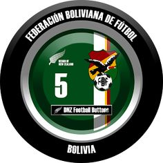 DNZ Football Buttons: Seleção da Bolívia