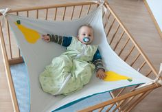 Baby-Hängematte // hammock for babies via DaWanda.com