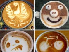Funny Coffee Shop Art