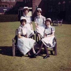 Nurses T uniforms were hot in the summer and cold in the winter. We were proud to wear them anyway.