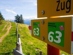 Den Schwyzer Höhenweg entlang - Etappe 1 von Küssnacht nach Rigi Staffel - Adventures Outside Der Bus, Advent, Direction Signs, Flims