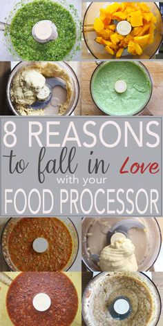 Fall in love with your food processor again! Make salsas, marinades, sauces, pestos, hummus, bread dough, pastry dough, the sky is the limit! | FusionCraftiness.com