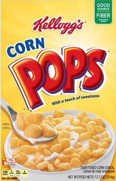 Pack) Kellogg's Corn Pops Crispy Breakfast Cereal, Oz for sale online Corn Pops Cereal, Cereal Boxes, Chex Cereal, Rice Cereal, Cereal For Diabetics, Crunch Cereal, Grocery Coupons, Colors, Ideas