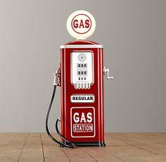 Vintage Gas Station Pump | Riding Toys | Restoration Hardware Baby & Child