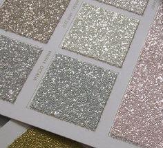 Glittery wallpaper!! Ahhhhh