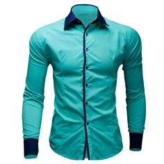 Brand New Mens Dress Shirts Casual Shirts Type Mince À Chemises Camisa Masculina Casual Shirts Taille: M-XXL Long Sleeve Shirt Dress, Long Sleeve Shirts, Dress Shirts, Men's Shirts, Jean Shirt Men, Cheap Mens Shirts, Camisa Polo, Shirt Style, Men Dress