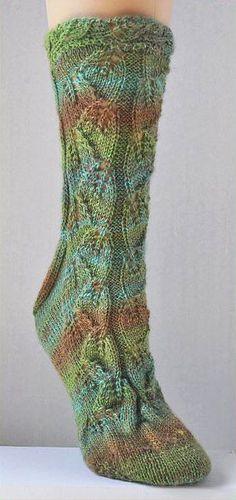 Sausalito Secret Garden Socks