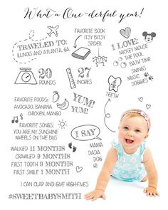 57676ab4ca96 41 Best MONTHLY BABY PHOTO IDEAS images
