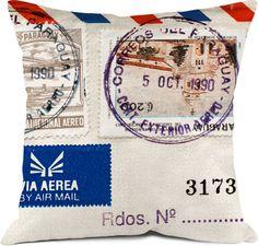 envelope cushion #mail #crafts