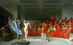 Jean Leon Gerome Phryne Before The Areopagus print for sale. Shop for Jean Leon Gerome Phryne Before The Areopagus painting and frame at discount price, ships in 24 hours. Cheap price prints end soon. Aphrodite, Der Richter, Jean Leon, Gauguin, Rainer Maria Rilke, Classic Paintings, Beautiful Paintings, Romanticism, Ancient Greece
