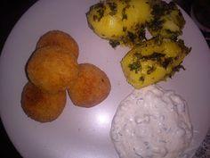 Fischballchen Muffin, Eggs, Breakfast, Blog, Fish, Food Food, Rezepte, Morning Coffee, Egg