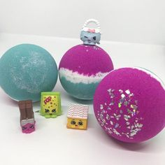Bath bombs and products loaded with bright colours, delicious scents, bubbles, surprises and loads of fun! Bright Colors, Colours, Bath Bombs, Snow Globes, Kids Toys, Christmas Bulbs, Bubbles, Holiday Decor, Fun