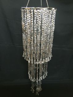 Wedding chandelier rentals made easy this is a 3 foot long crystal wedding chandelier rentals made easy this is a 3 foot long crystal silver chandelier aloadofball Images
