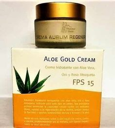 Crema facial Aloe Gold cream. https://compraraloe.com/aloe-vera/