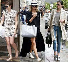 Celebrity Street Style Paris Fashion Week Edition | Outlet Value Blog