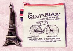 Items similar to Vintage Bike & Typography Square Canvas Purse / Wallet, Coins Pouch, Decoupage Small Bag, Zip Pouch / Wallet, Key Ring Purse on Etsy Purse Wallet, Pouch, Canvas Purse, Decoupage Art, Square Canvas, Everyday Items, Key Rings, Purses And Bags, Coins