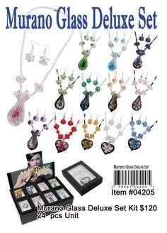 #Wholesale Murano Glass Deluxe set [04205]