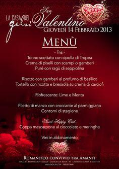 Cena di San Valentino 2013 - Casa dei Gelsi - Cusinati di Rosà - Bassano del Grappa - Vicenza - Veneto