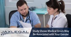 Study Shows #MedicalErrors May Be Associated with Your Gender