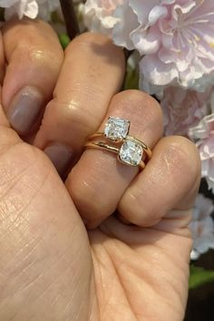 Asscher Cut Diamond, Diamond Cuts, Bezel Diamond Rings, Solitaire Rings, Engagement Ring Types, Solitaire Engagement, Expensive Engagement Rings, Types Of Wedding Rings, Thing 1