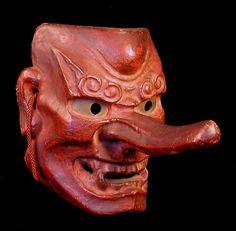 19th Century Tengu Mask