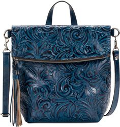 Patricia Nash Burnished Tooled Luzille Convertible Backpack Handbags    Accessories - Macy s 6ee91a62b0