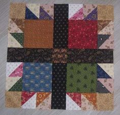 Moore Patchwork & Quilting: Bear's Paw Dolly Quilt