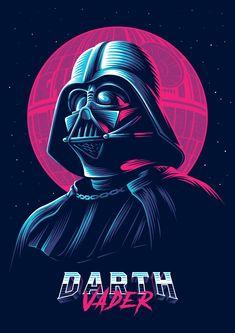 Neon villains - PosterSpy